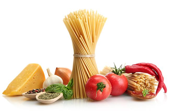 Nudeln und Käse